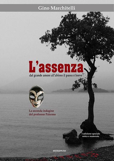 Nuova copertina L'Assenza SOLO FRONTE.jp