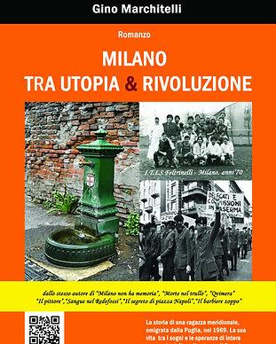 Utopia & Rivoluzione copertina FRONTE NU