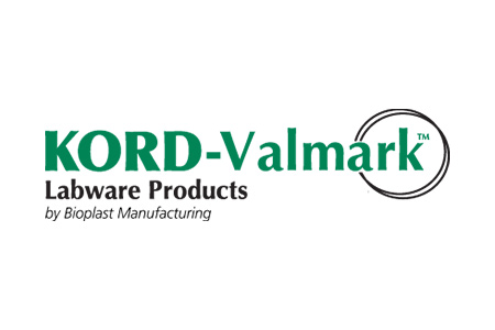 Logo for Kord-Valmark labware products
