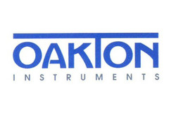 Logo for Oakton laboratory & industrial instrumentation for pH, conductivity, TDS, ORP and DO
