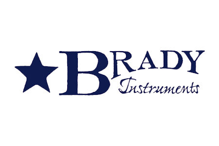 Logo for Brady Instruments brand hydrometers