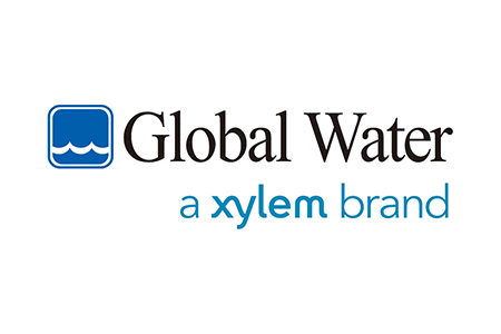 Logo for Global Water, a Xylem brand