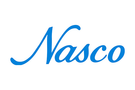Blue logo for Nasco sampling products