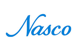 Blue logo for Nasco sampling products