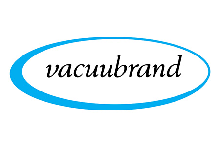Logo for Vacuubrand laboratory vacuum pumps