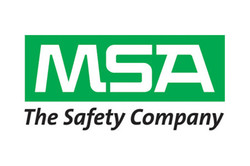 Logo for MSA Safety work gloves and personal protection products