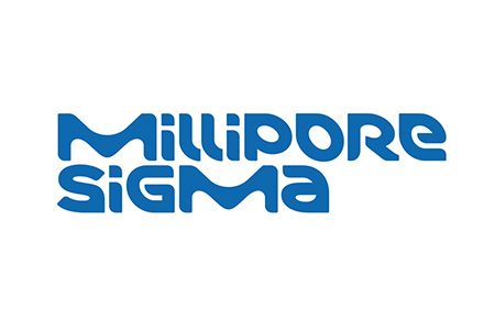 Logo for Millipore Sigma chemical and biochemical products and kits