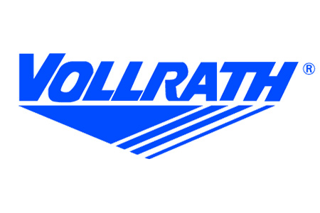 Logo for Vollrath stainless steel labware