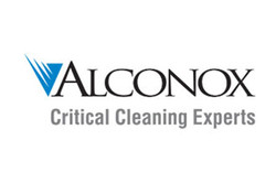 Logo for Alconox brand cleaners and detergents