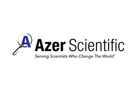 Logo for Azer Scientific laboratory equipment