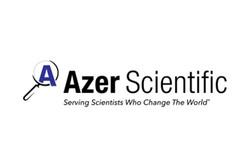Logo for Azer Scientific laboratory equipment