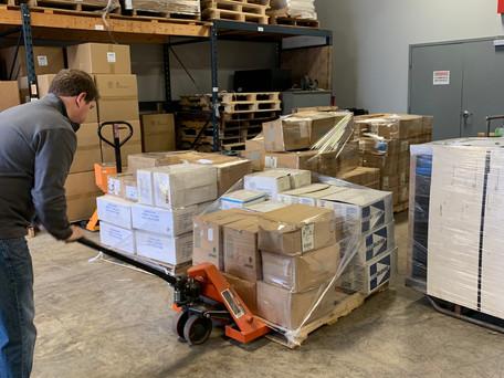 Precision Scale & Balance donates PPE to WNY community