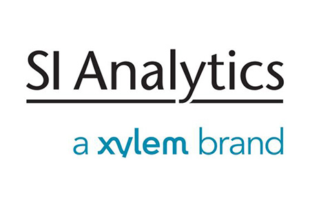 Logo for SI Analytics, a Xylem brand