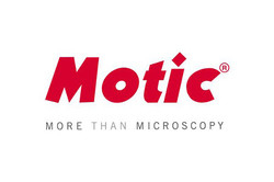 Logo for Motic high-quality microscopes, cameras and accessories