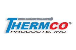 Logo for Thermco Products laboratory thermometers, mercury thermometers, ASTM thermometers, and liqu