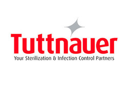 Logo for Tuttnauer sterilizers and autoclaves