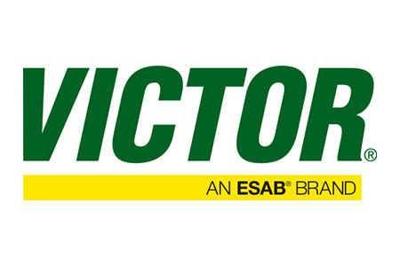 Logo for Victor gas handling equipment