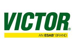 Logo for Victor gas handling equipment