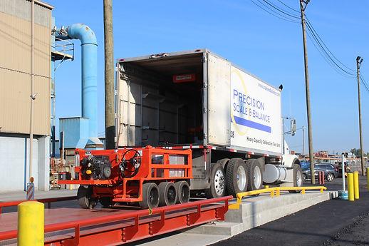 Precision Scale & Balance service truck