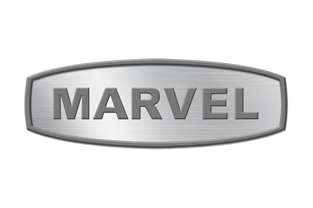 Logo for Marvel Scientific refrigerators and freezers