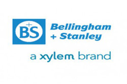 Logo for Bellingham + Stanley, a Xylem brand