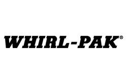 Logo for Whirl-Pak lab sampling bags