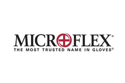 Logo for Microflex disposable gloves