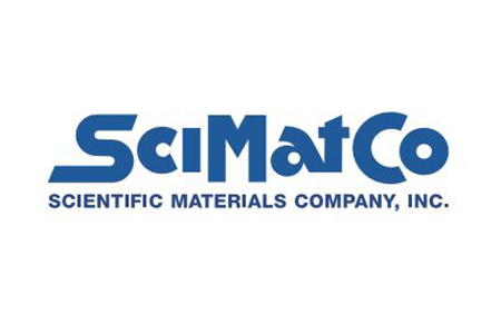 Logo for the Scientific Materials Company, A.K.A. SciMatCo