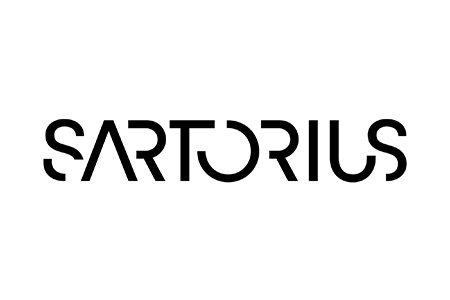 Logo for Sartorius balances and pipettes