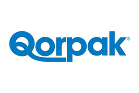 Logo for Qorpak, manufacturer of glassware, lab supplies and lab containers