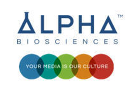Logo for Alpha Biosciences culture media