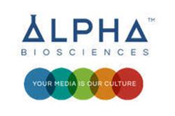 Logo for Alpha Biosciences culture media