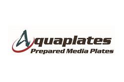 Logo for Aquaplates brand prepared media plates