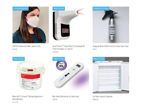 Announcing our new PPE website, niagarascistore.com