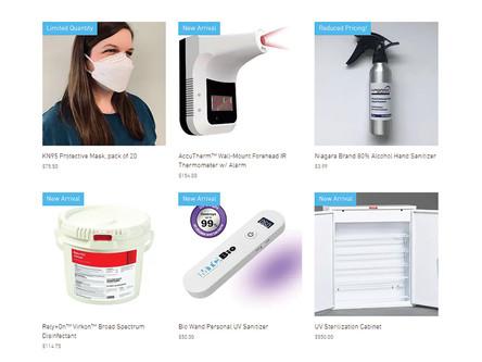 Announcing our PPE e-commerce website, niagarascistore.com