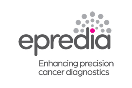Logo for Epreida brand cancer diagnostics supplies