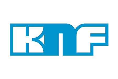 Logo for KNF lab pumps and vacuums