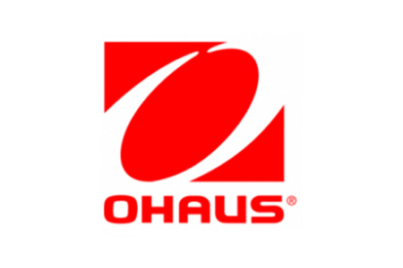 Logo for Ohaus weighing scales, lab equipment and lab instruments