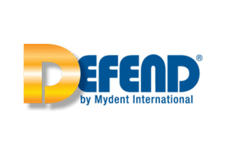 Logo for Defend dental products by MyDent International