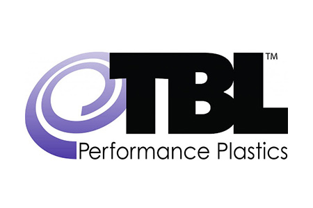 Logo for TBL Plastics, manufacturer of single-use bio-pharm fittings and tubing