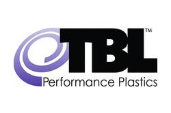 Logo for TBL Plastics, manufacturer of single-use bio-pharm fittings and tubing