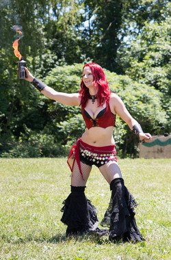 Sasha the Fire gypsy