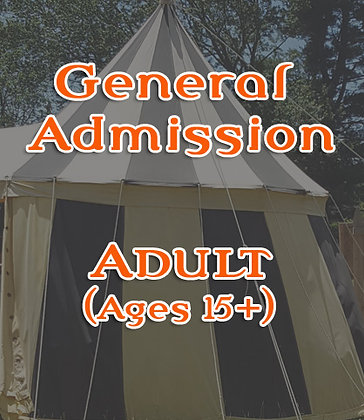 Adult Ticket (Ages 15+)