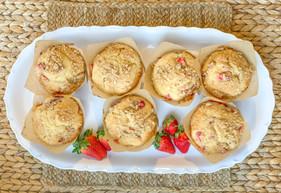 Strawberry Ginger Muffin