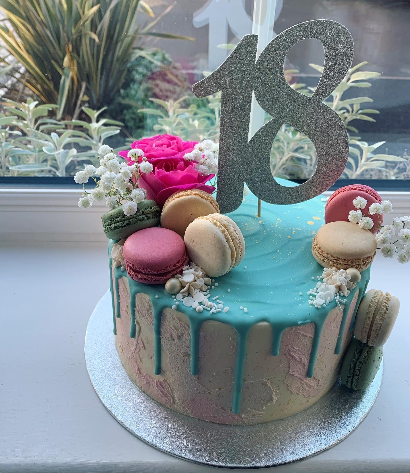 Pastel 18th Cake_LHK