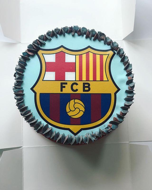 Barcelona FC Cake_LHK