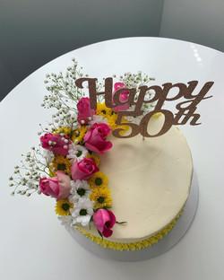50th Birthday Cake_LHK