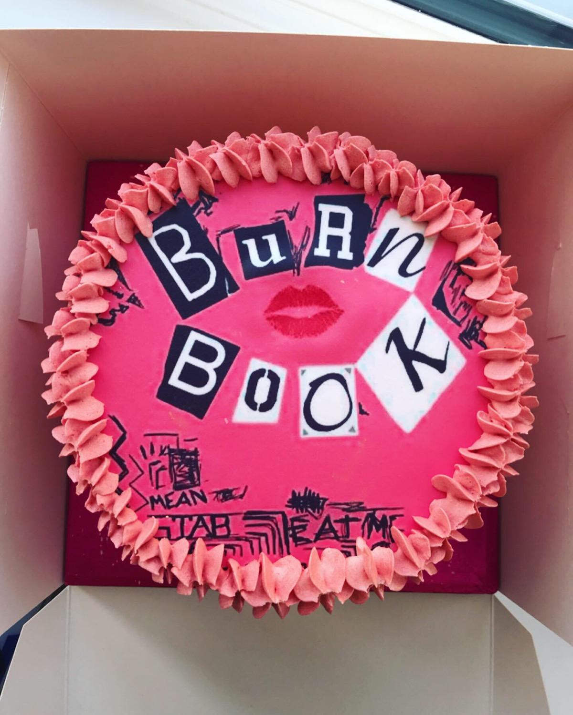 Burn Book Cake