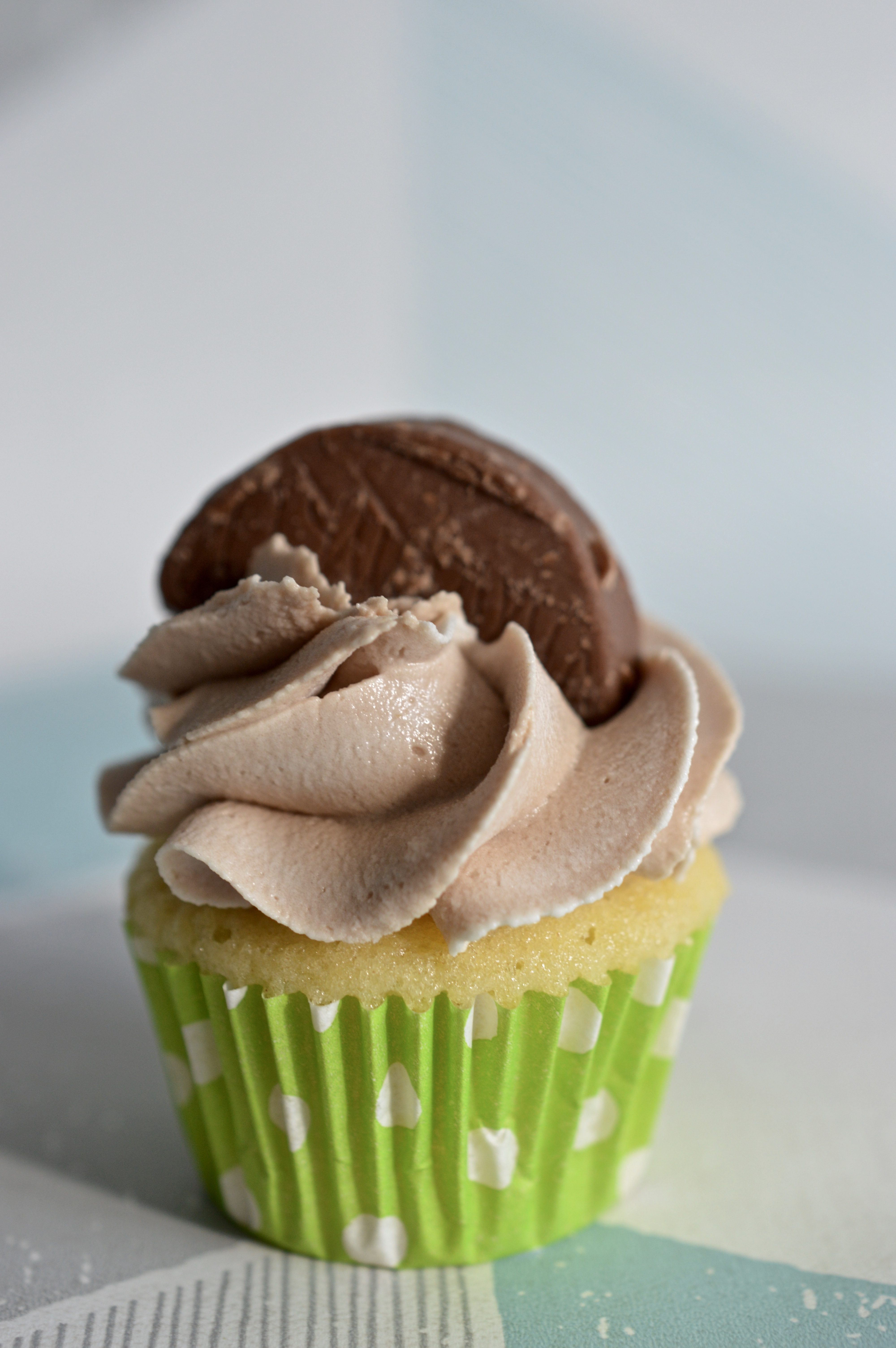 Mini Chocolate Orange Cupcake