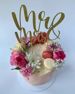Pink Pastel Wedding Cake_LHK